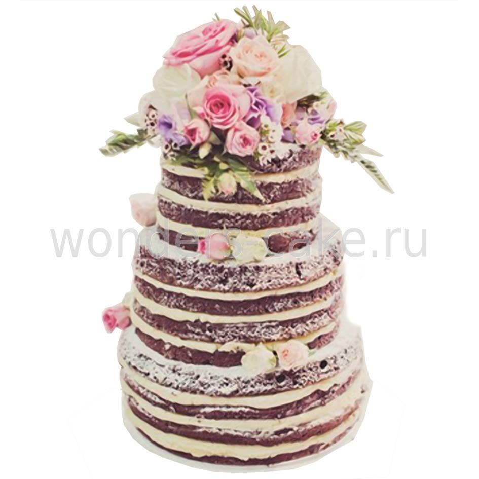 Торт кукурузный с орехами фото 8
