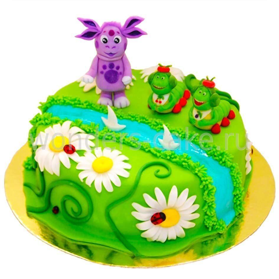 Детский торт с лунтиком фото
